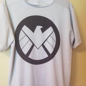 Under Armour Marvel shield compression shirt